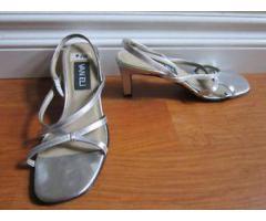 Sandale argent